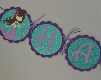 Mermaid Birthday Banner