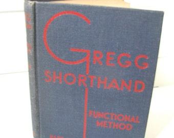 1945 Gregg Shorthand instructional book