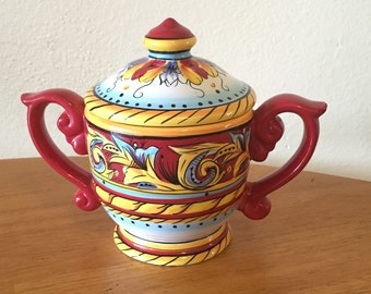 Retired Renaissance Jar With Lid by Tabletops Unlimited
