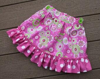 TODDLER SKIRT, Fun Colorful, Comfortable, Summertime Skirt