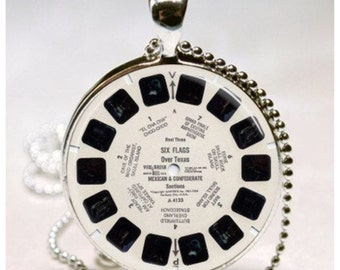 Necklace - Vintage Reel Viewfinder