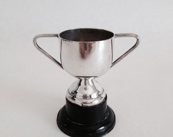 Vintage Miniature Trophy, Prize Cup, Old Trophy Cup, Not Engraved,