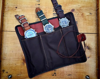 watch travel pouch