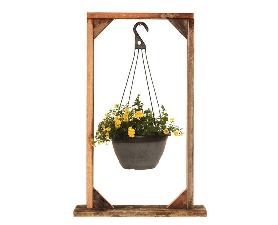 Flower Hanging Baskets Sale : Items similar to sale plant hanging basket stand