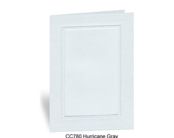 Photo Insert Note Cards, Hurricane Gray - 10 cards and envelopes, 100% recycled & made in the USA