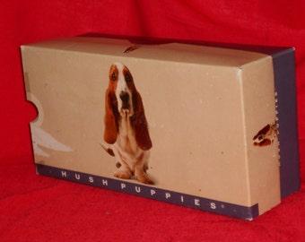 Hush Puppies Shoe Box Vintage