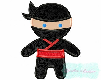 Buy Two Get One Free Ninja Applique Design