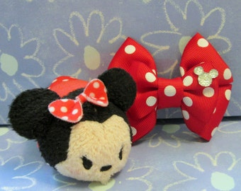 Classic Minnie Mouse Inspired Hair Bow