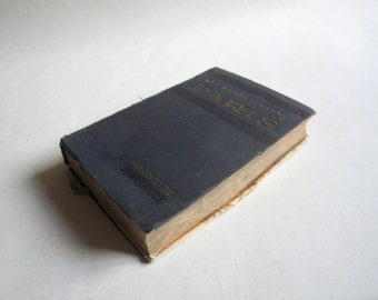 1937 les guides bleus Paris, Hachette