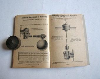antique Pont-a-Mousson hauts fourneaux et fonderies album