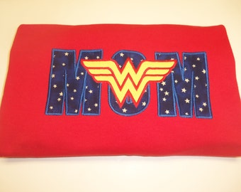 Wonder Woman/Mom Adult Shirt