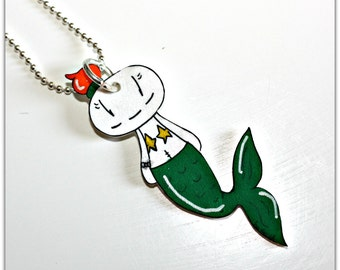 Smorglub Mermaid, pendant