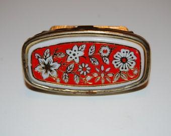 Vintage Lipstick Case/Carrier with Mirror