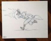 Star Fox - Pencil Illustration