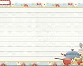 Recipe card (blank) - digital
