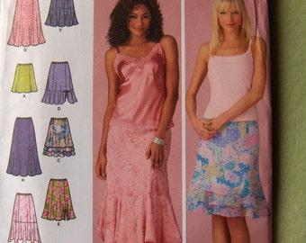 Simplicity 4138 women's skirt pattern