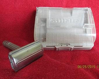 REDUCED PRICE - Vintage Gillette Super Speed Razor-circa 1950's