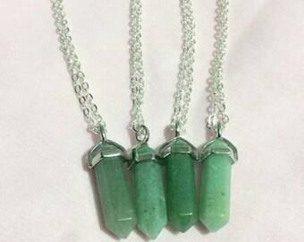 Aventurine Crystal Necklace