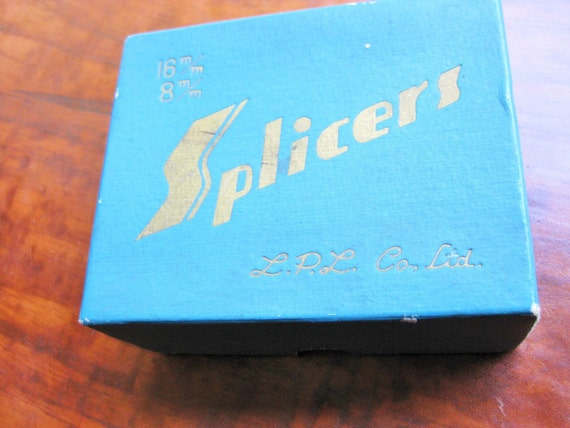 LPL Co. Ltd. Splicers. 16mm and 8 mm. Film editing. Film splicer. Made in Japan