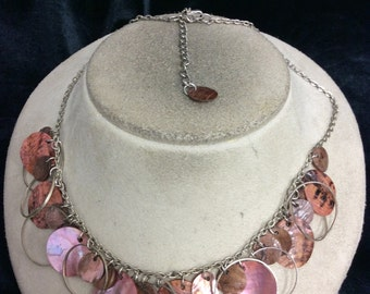 Vintage Dangling Shell Necklace