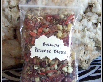 Witch's Beltane Incense Blend May Day Altar Incense Celebrations Rituals Beltane Festival Pagan Wiccan Wicca Witch
