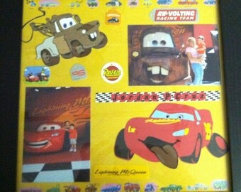 Disney's Cars Scrapbook Layout (Made to Order)