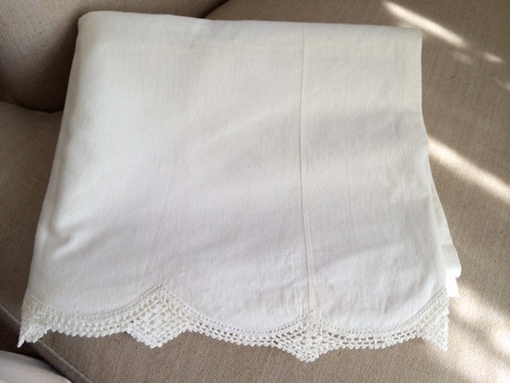 Victorian Bolster Pillows : Victorian Bolster Pillow Cover with Lace Edge