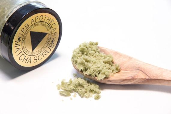 MATCHA SCRUB // Coconut Oil // Green Tea // Sugar Scrub // Anti ...