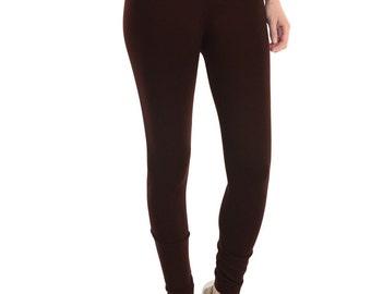 Chocolate Brown Fleece Leggings