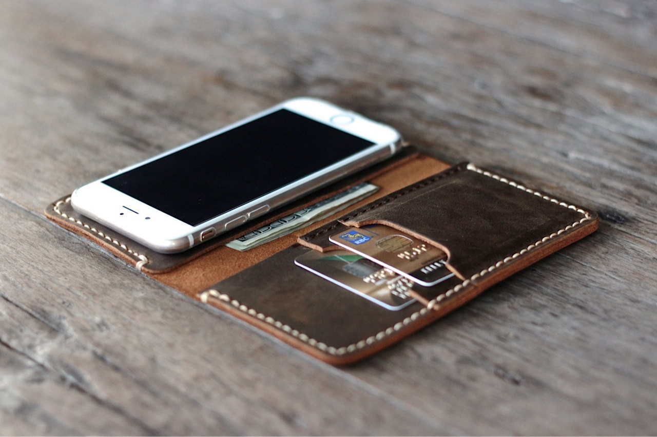 Leather Iphone 6 Wallet For Men Iphone 6 Leather Case Wallet
