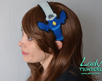 Link's Sword (Legend of Zelda)  Felt Headband