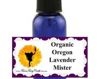 Organically Grown Lavandin Grosso Essential Oil Spritzer, Lavender Grosso Spritzer, Heat Therapy Spritzer, Hot Pad Therapy Spritzer