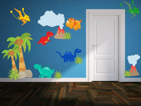 Dinosaur Wall Decals Boys Room Wall Decals Dinosaur - Dinosaur wall decals nursery