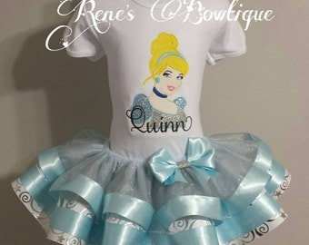 Cinderella Ribbon Tutu Set