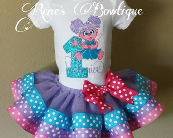 Abby Cadabby Ribbon Tutu Set