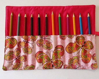Butterfly Pencil Roll