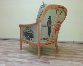 "Vintage Chair from "" Hafen Kings Collection"""