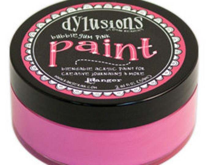 BUBBLEGUM PINK Dylusions Blendable Acrylic Paint by Dyan Reaveley