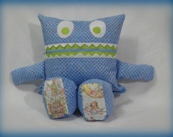 Monster Pajama Eater/ Mother Goose/ Fairy Tales/ Pajama Eater/ Pillow Friend/ Pajama Keeper/ Pillow/ Pajama Bag/ Stuffed Toy/ Secret Keeper