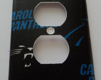 Carolina Panthers Print Outlet Plate Cover