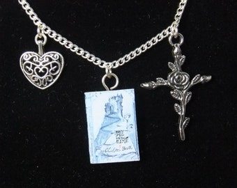 Jane Eyre Book Necklace - Version 1 - Great Gift for Book Lovers!