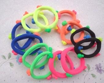 Mickey accessories hair band - ponytail holders,ponytail,felt Hair bobbles,hair elastics,childrens,girls,babies,toddlers