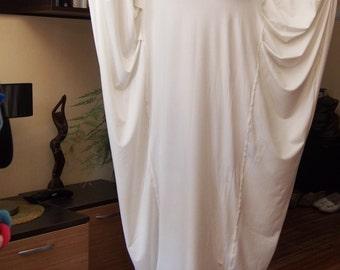 Plus size Dress  Jersey Tunic Top Long Tunic Loose Dress Maxi Dress & Nara DR032