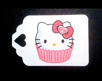 Hello Kitty Party Tags