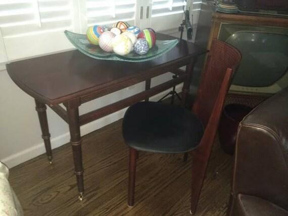 Vintage Italian Occasional Desk & Chair-Unique