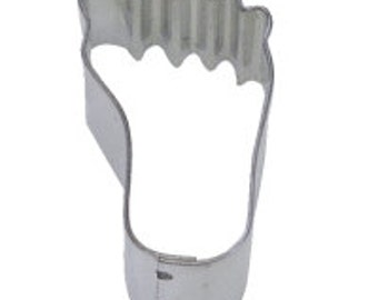 Mini Foot Cookie Cutter 1.75""