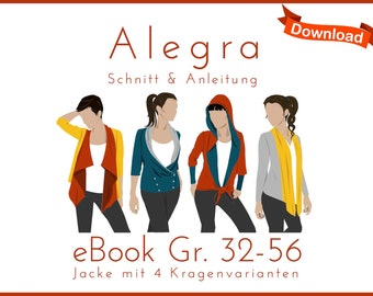 eBook Pattern Jacke Cardigan Alegra