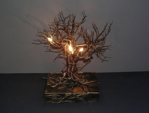 ROOTS Collection Roots Table Lamp Small