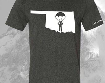 Oklahoma Sky Diver Shirt ANY STATE AVAILABLE