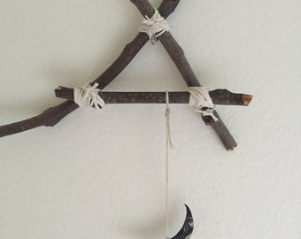 ADDITION: Wooden Triangle Hanger